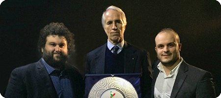 Giovanni Malagٍò premiato da ENDAS Abruzzo